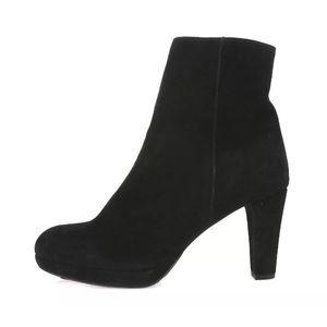 La canadienne Monacco Black Woman's Ankle Boots